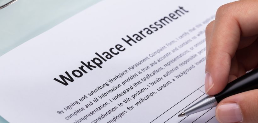 Sexual assault workplace harassment form