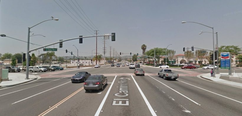 La Habra pedestrian killed